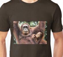 Are You Looking At Us?? Orangutans, Sepilok, Borneo  Unisex T-Shirt