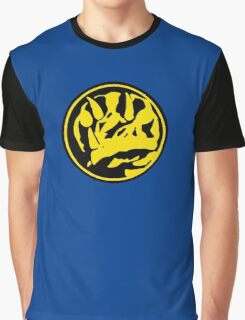 Mighty Morphin Power Rangers Blue Ranger Symbol Graphic T-Shirt