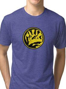 Mighty Morphin Power Rangers Blue Ranger Symbol Tri-blend T-Shirt