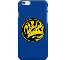Mighty Morphin Power Rangers Blue Ranger Symbol iPhone Case/Skin