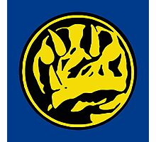 Mighty Morphin Power Rangers Blue Ranger Symbol Photographic Print