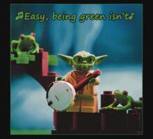 Greenin' ain't easy Kids Clothes