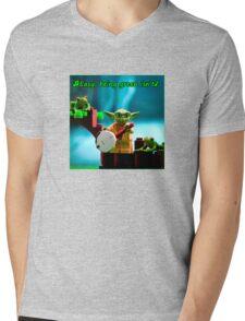 Greenin' ain't easy Mens V-Neck T-Shirt