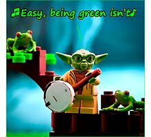 Greenin' ain't easy Photographic Print