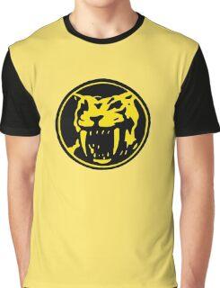 Mighty Morphin Power Rangers Yellow Ranger Symbol Graphic T-Shirt