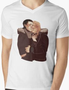 Hug Mens V-Neck T-Shirt
