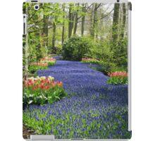 The Flower Lane, 2012, Keukenhof Gardens, Holland iPad Case/Skin