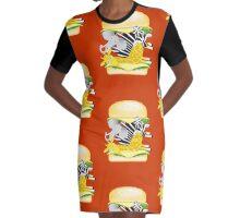 Hamburger Heaven - Savannah Good Times Graphic T-Shirt Dress