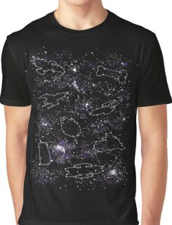 Star Ships Graphic T-Shirt