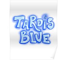 Doctor Who - Tardis Blue Poster