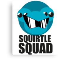Squirtle Squad - Department Logo Canvas Print