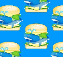 Hamburger Heaven - WhaleOn by Brett Perryman