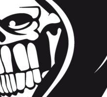 Death hooded sweatshirt evil Sticker