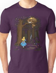My Neighbor in Wonderland (Army) Unisex T-Shirt