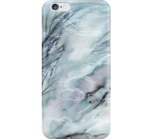 Ripples on the Garden Pond iPhone Case/Skin