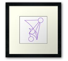 Safe Journal Sigil Framed Print