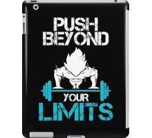 Super Saiyan Goku Training Shirt - RB00527 iPad Case/Skin