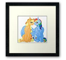 AppleDash - My Little Pony Framed Print
