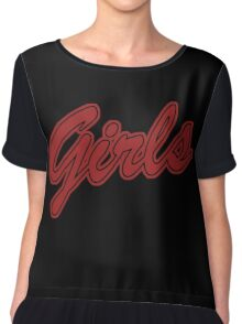 Girls (Red) Chiffon Top