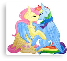 FlutterDash - My Little Pony Canvas Print