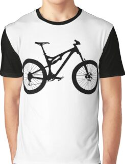 Mountain Bike Bicycle Graphic T-Shirt