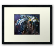 Lead out Framed Print