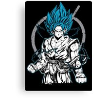 Super Saiyan Goku God Shirt - RB00528 Canvas Print