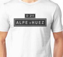 Alpe D'Huez Street Sign Cycling Unisex T-Shirt