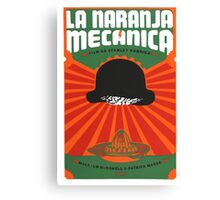 La Naranja Mecanica (Clockwork Orange) Canvas Print