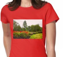 Impressions of London - English Rose Garden Womens Fitted T-Shirt