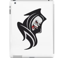 Death hooded sweatshirt iPad Case/Skin