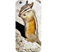 Chipmunk Munch iPhone Case/Skin