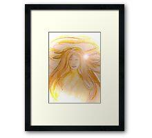 A Guardian Angel Framed Print
