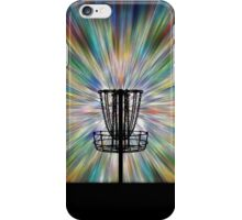 Disc Golf Basket Silhouette iPhone Case/Skin