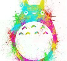 Totoro Summer by Hawkness