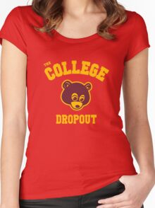 Dropout Women's Fitted Scoop T-Shirt
