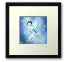 little ice fairy Framed Print