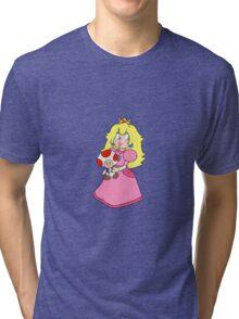 Princess Toadstool Tri-blend T-Shirt