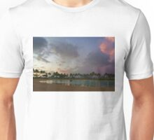 Tropical Sky and Palm Trees - Impressions of Hawaii Unisex T-Shirt