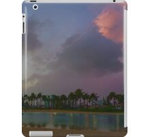 Tropical Sky and Palm Trees - Impressions of Hawaii iPad Case/Skin
