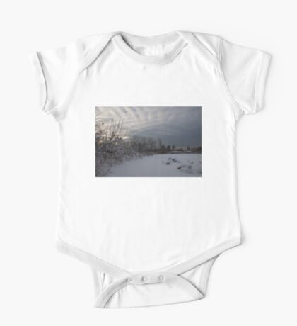 Clearing Snowstorm One Piece - Short Sleeve