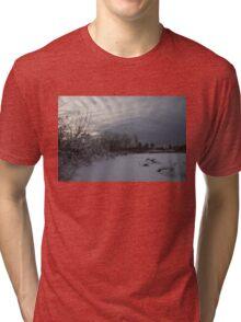 Clearing Snowstorm Tri-blend T-Shirt