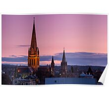 Cathedral At Dusk Poster