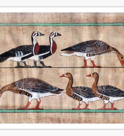 Atet's Geese Sticker