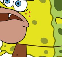 SPONGEBOB THE PRIMITIVE CAVEMAN SPONGEGAR! Sticker