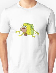 SPONGEBOB THE PRIMITIVE CAVEMAN SPONGEGAR! Unisex T-Shirt