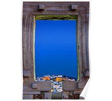 The Chora & the Portara - Naxos island Poster