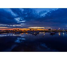 Sunset Harbour Photographic Print