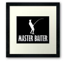 Master Baiter T Shirt Framed Print