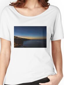 Sorrento at Night Women's Relaxed Fit T-Shirt
